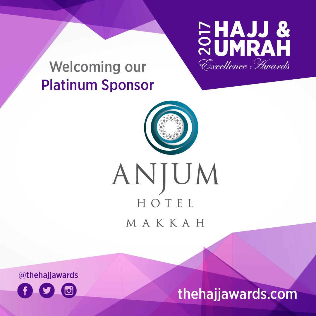Anjum Hotel are Platinum Sponsors at 2017 HUEA