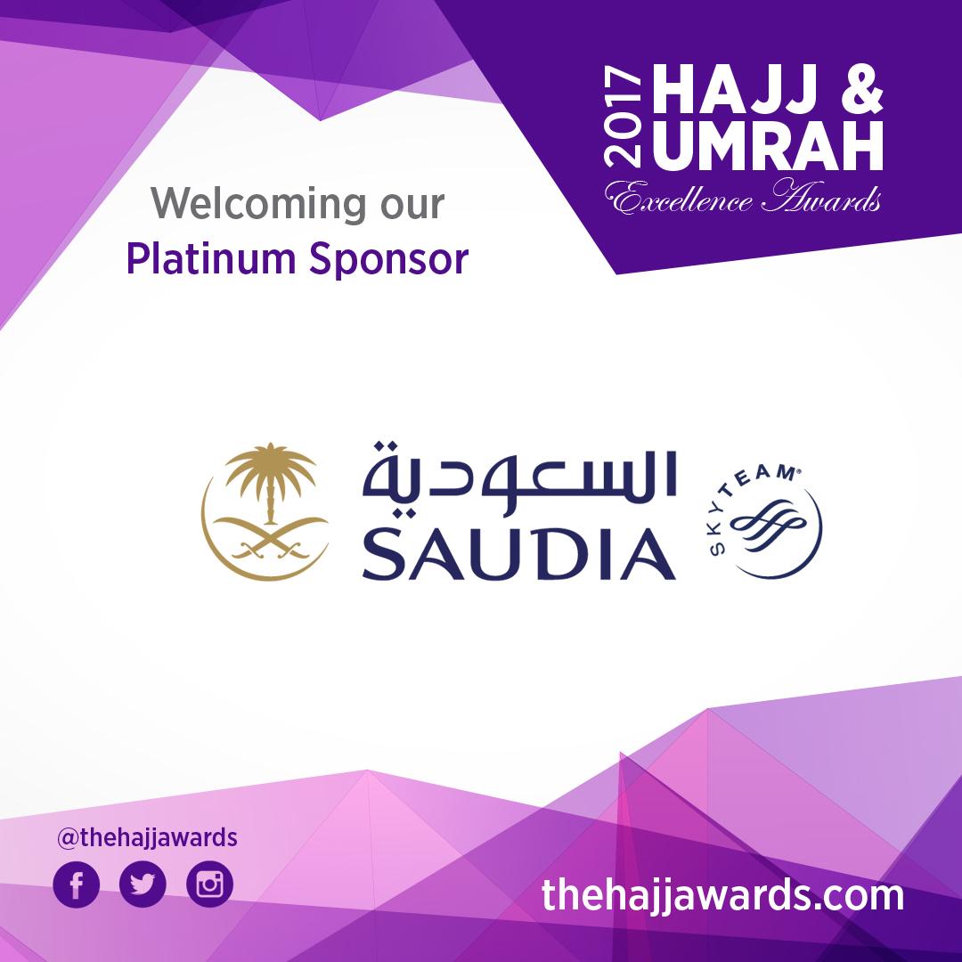 Saudi Airlines are Platinum Sponsors at 2017 HUEA