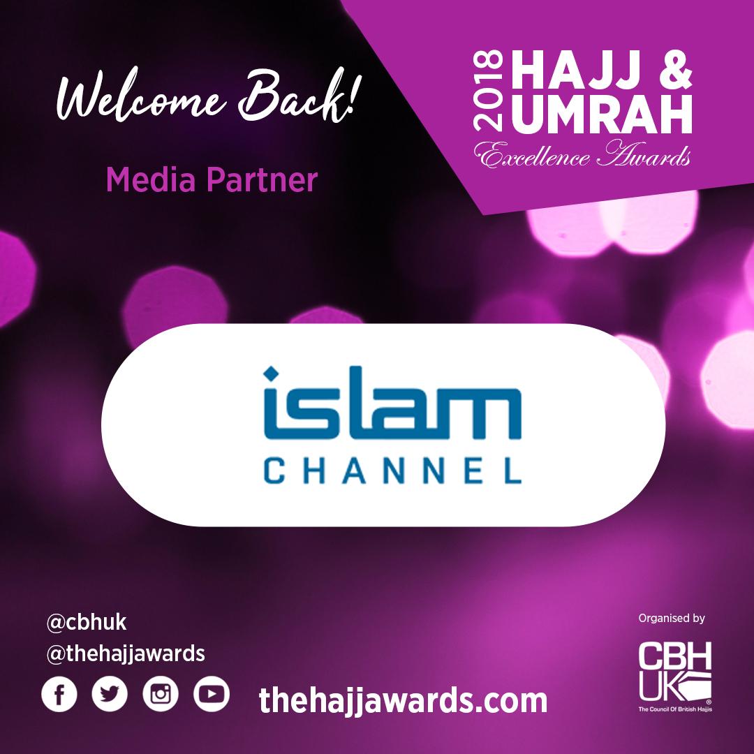 Islam Channel returns as Media Partner for the Hajj Awards 2018