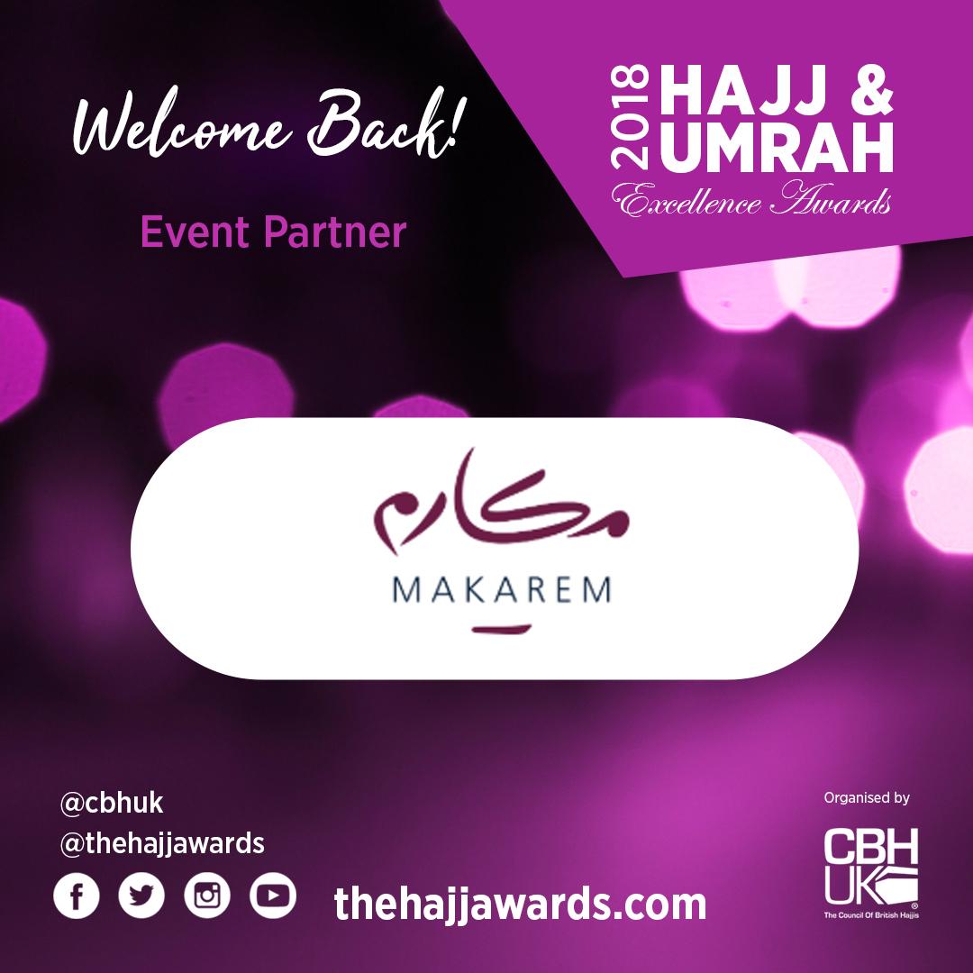 Makarem is back for the Hajj Awards 2018