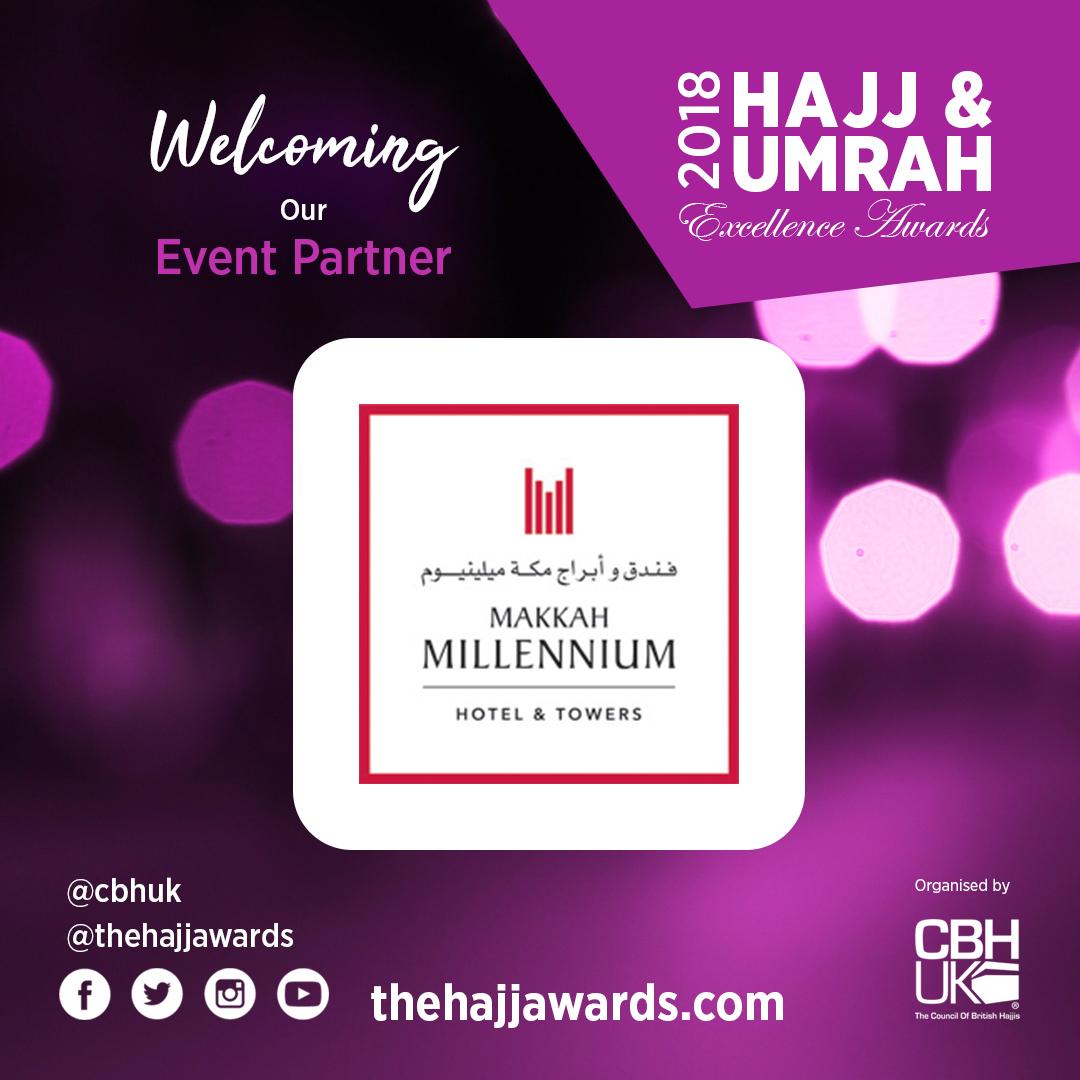 Makkah Millennium Hotels & Towers Sponsor the Hajj Awards 2018