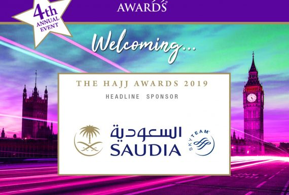 Saudia returns as Headline Sponsor at The Hajj Awards 2019