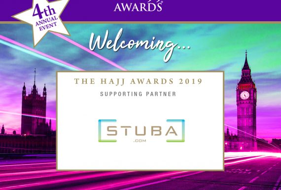 Stuba.com supporting the Hajj Awards 2019